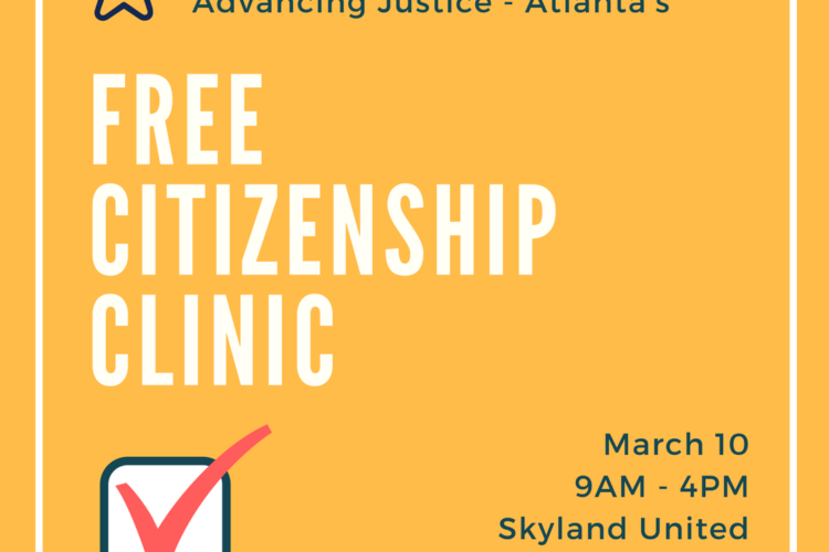 Volunteer for Free Citizenship Clinic
